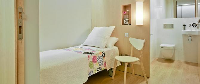 Habitaciones para pacientes Imar Murcia