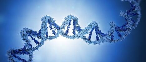 ADN de tres personas diferentes