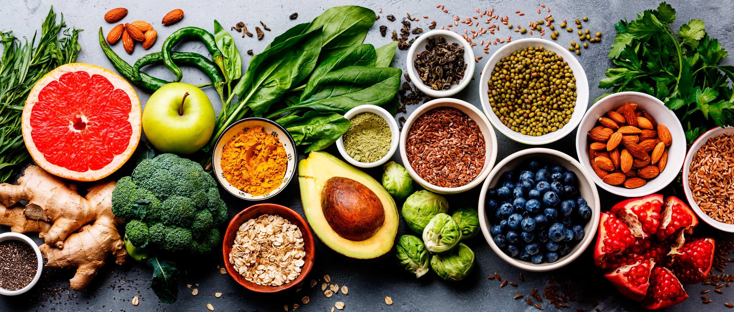 Alimentos ricos en antioxidantes