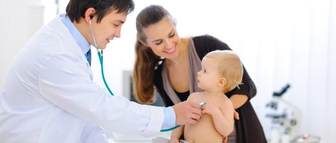 Imagen: Constipados en bebés