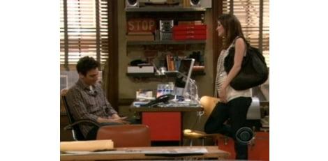 Cobie Smulders embarazada durante cómo conocí a vuestra madre