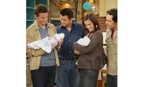 Mónica embarazada en Friends