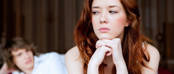 Imagen: Pareja deprimida en reproducción asistida