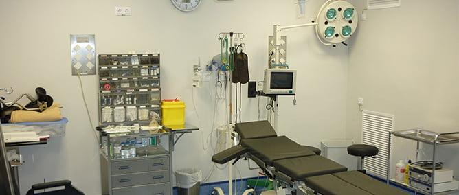 Clínica Ginecológica Doctores Povedano quirófano