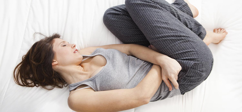 malestar abdominal antes o durante la menstruación