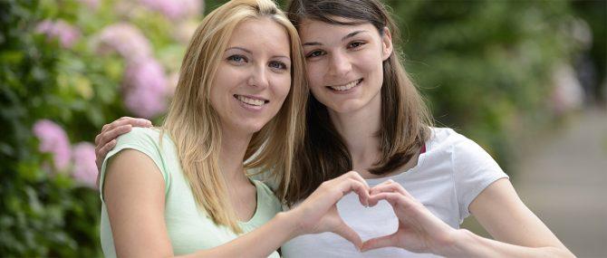 Imagen: Dos mamás, una misma familia