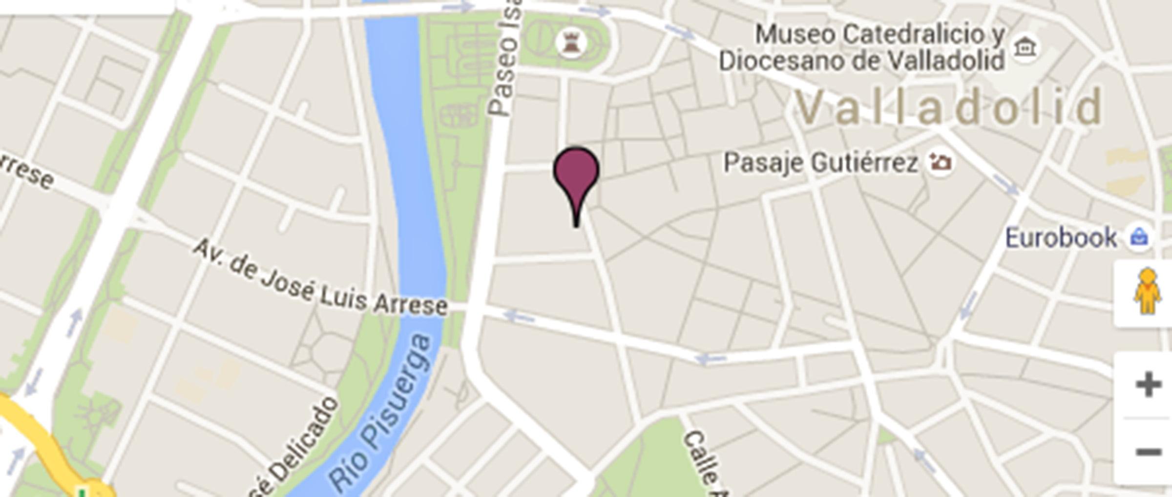 Localización geográfica de la consulta del Dr. Arqueros