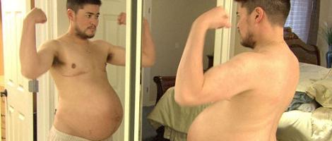 El primer hombre embarazado