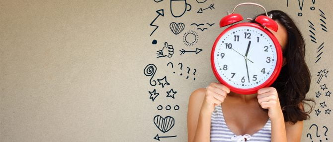 Imagen: Reloj biológico en las mujeres