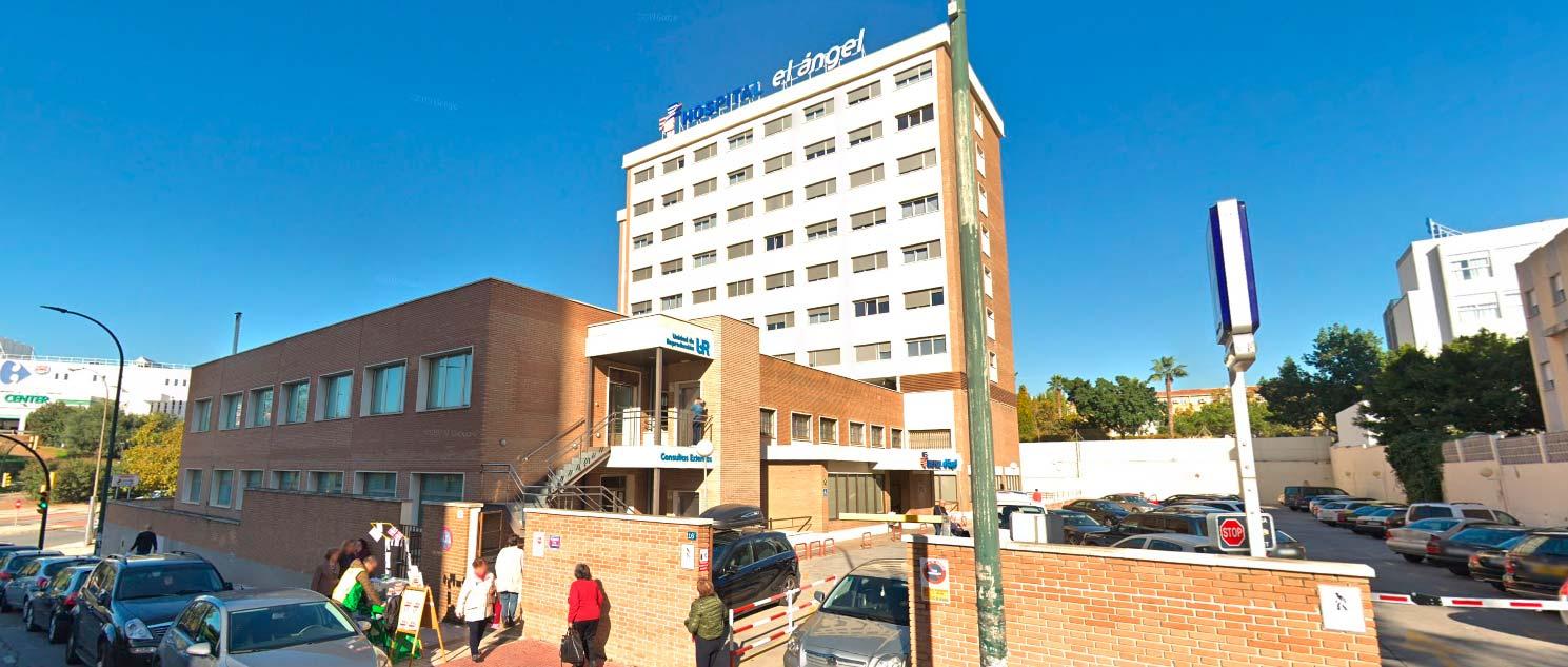 Hospital del Ángel con la UR