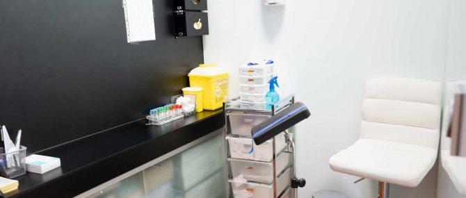 Imagen: Sala de extracción de IVF-Spain