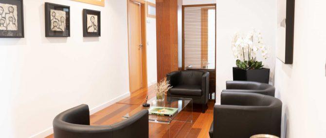 Imagen: Sala de espera para consultas