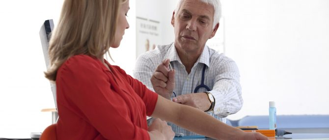 Imagen: Implante anticonceptivo subdérmico