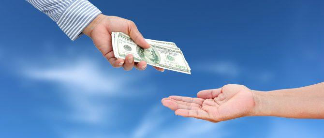 Imagen: Reclamo de dinero
