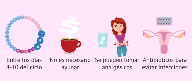 Imagen: Indicaciones HSG