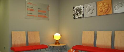 Instalaciones Embriogyn - Sala de espera