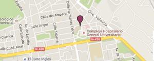 Instituto bernabeu albacete, localización