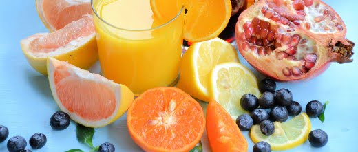 Nutrientes de la fruta