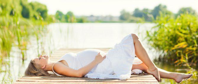 Imagen: Embarazo y luz solar