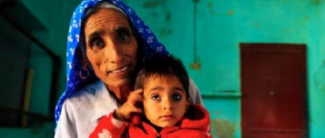 Imagen: La madre más vieja del mundo