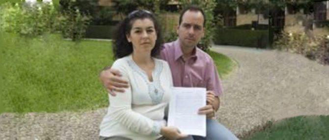 Imagen: La pareja será indemnizada con 90.000 euros por los daños morales ocasiones