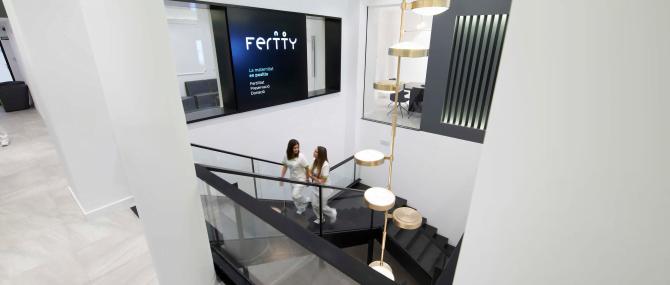 Imagen: Instalaciones de Fertty en Barcelona