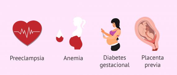 Imagen: Enfermedades maternas embarazo