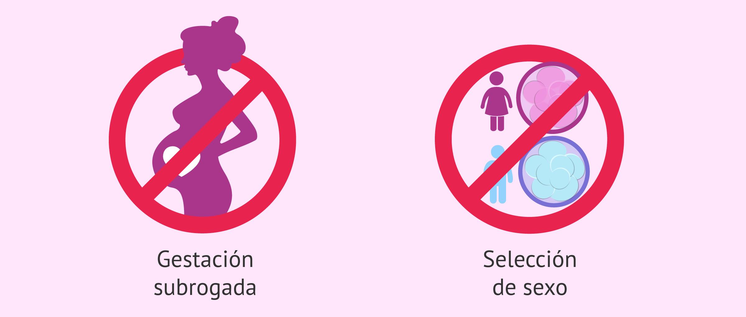 Técnicas de reproducción asistida prohibidas en España