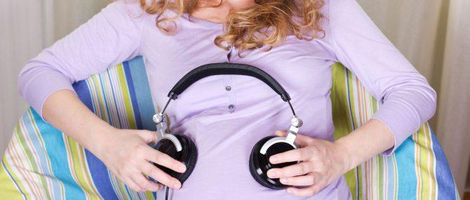 Imagen: Música y bebés