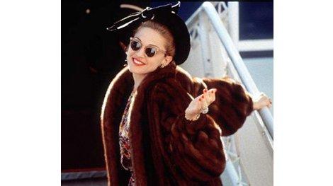 Madonna embarazada en Evita
