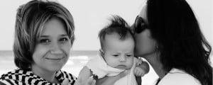 Parejas lesbianas con hijos