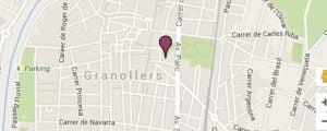Mapa FecunMed Granollers