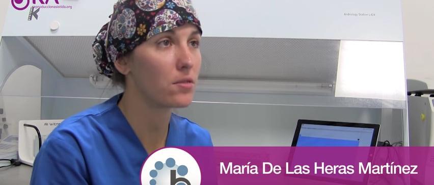 Embrióloga de Reproducción Bilbao