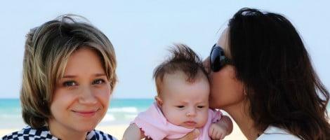Lesbianas en la maternidad