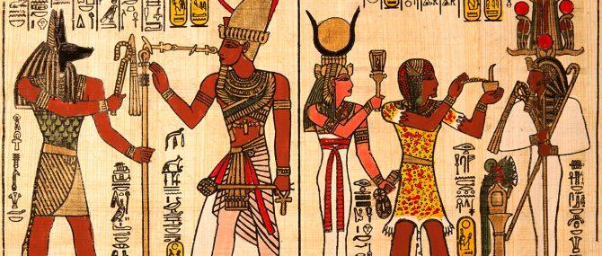 Imagen: Papiro egipcio