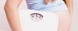 Aumento de peso de la embarazada