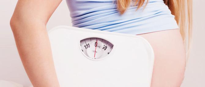 Es importante perder peso tras el parto para evitar problemas de salud