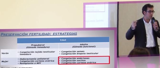 Ponencia de ReproFIV «Ser padres después de un cáncer. Preservación de la fertilidad» en inviTRA 2014