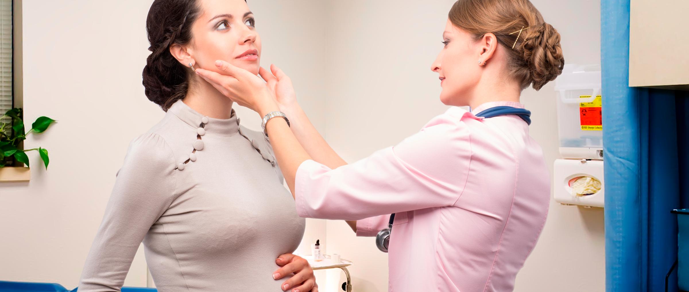 Control de la glándula tiroides en el embarazo