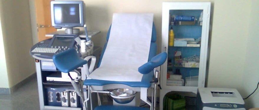 Consulta médica de la Clínica Mencía
