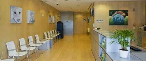 Sala de espera IVI Bilbao