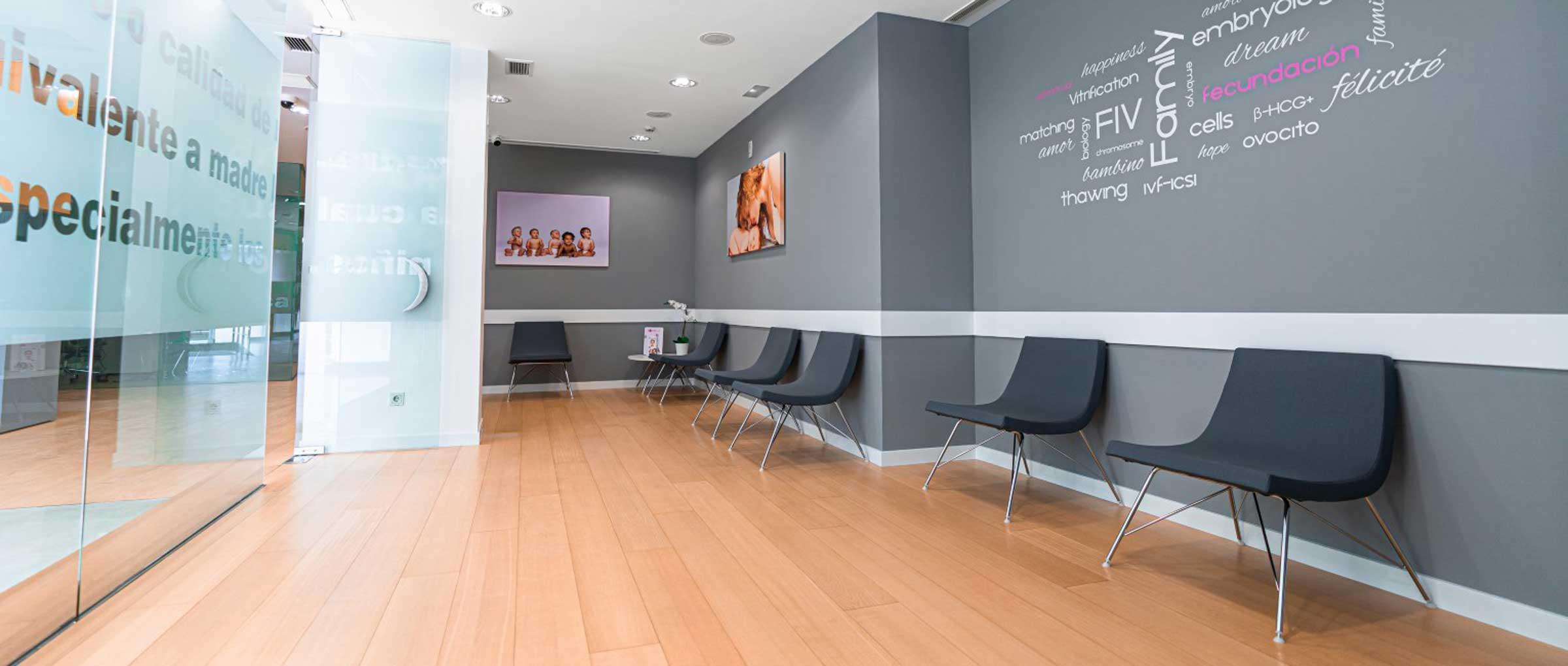Sala de espera para pacientes