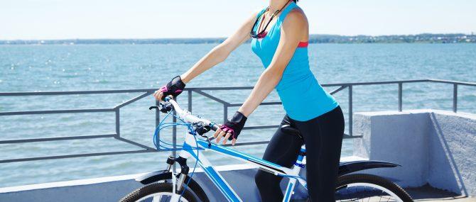 Montar en bici afecta a la fertilidad de la mujer