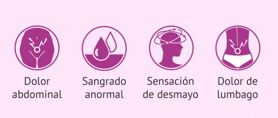 Síntomas del embarazo ectópico