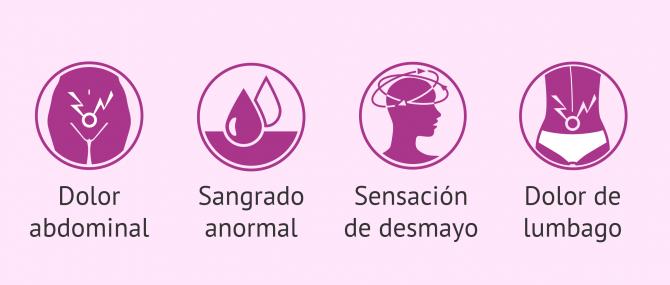 Imagen: Síntomas del embarazo ectópico