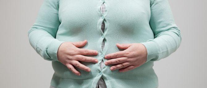 Imagen: Mujer con sobrepeso