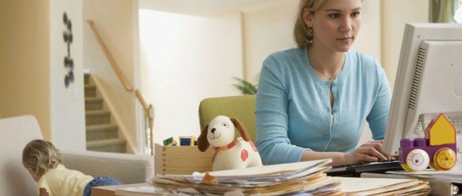 Madres en el mercado laboral