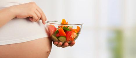 Las embarazadas también tienen trastornos alimenticios