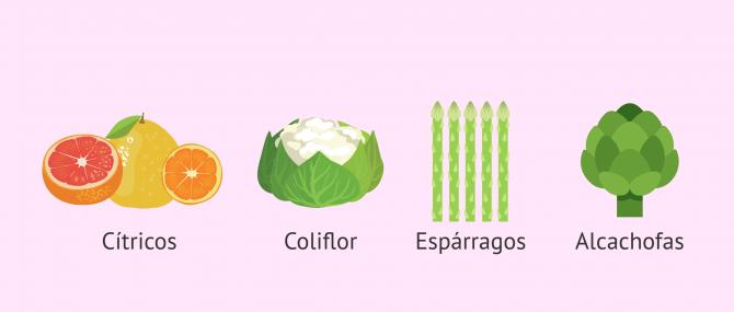 Imagen: Alimentos con sabor fuerte para los lactantes