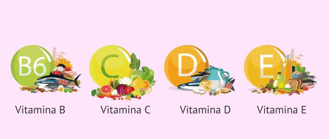 Imagen: Alimentos ricos en vitaminas para la fertilidad femenina
